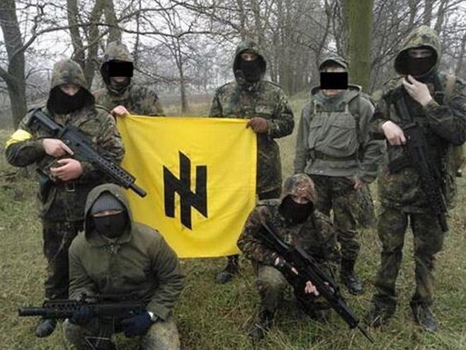 """Ukrajinski nacistički simboli """"vučje zamke"""""""