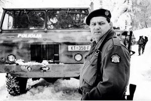 General Mladen Markač. Krvavi Uskrs Plitvice 1991. godine.