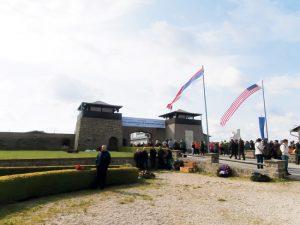 Glavni ulaz u centralni deo logora Mauthauzen (Foto: J. Čalija)