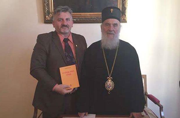 Neboša Kuzmanović i patrijarh srpski Irinej