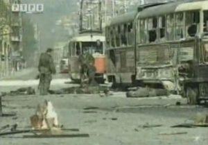 Napad na kolonu JNA u Sarajevu