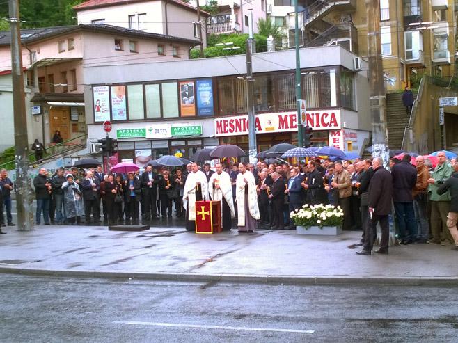 Obilježavanje stradanje vojnika JNA u DobrovoljačkojFoto: SRNA