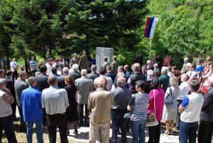 Parastos za ubijene Srbe u Bradini
