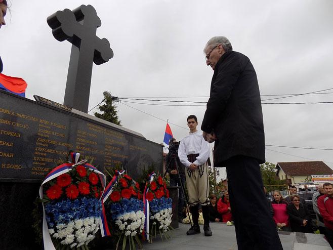 Pomen na goblju Pučile u Bijeljini (Foto: Srna)