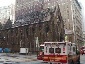 Požar na crkci Svetog Save u Njujorku  Foto: AP