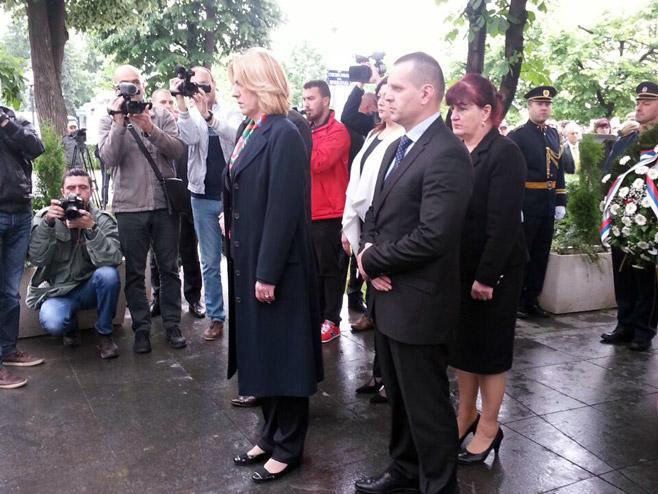 Predsjednica Vlade Željka Cvijanović (foto: RTRS)