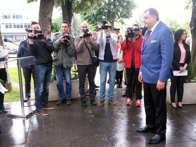 Predsjednik Srpske Milorad Dodik (foto: RTRS)