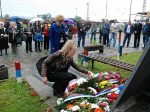 Prijedor: Parastos poginulim željezničarima Foto: SRNA