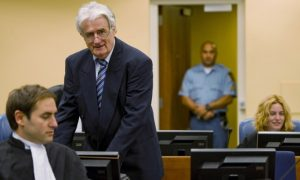 Haški osuđenik: Dr. Radovan Karadžić