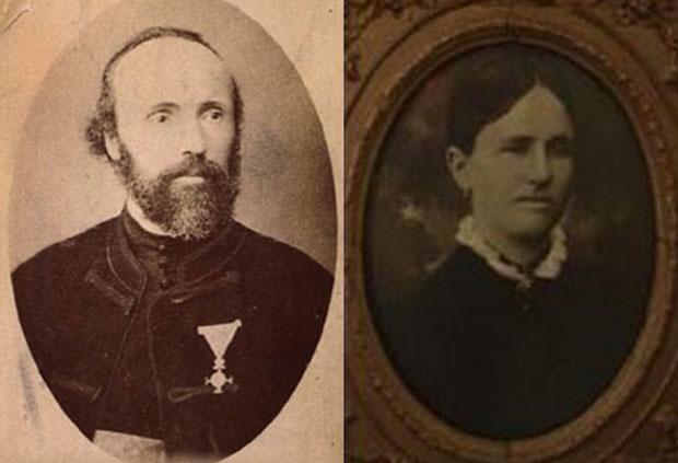 Nikolin otac Milutin Tesla, sveštenik i majka Georgina Đuka Tesla