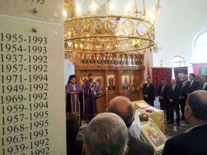 Sokolac - pomen poginulim borcima Sarajevsko-romanijskog korpusa Vojske Repubike Srpske   Foto: SRNA