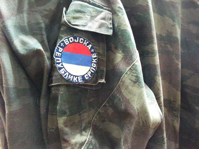 Stara uniforma Vojske Republike Srpske