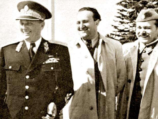 Tito, Vladimir Bakarić i Stevo Krajačić