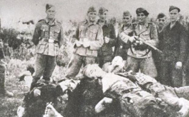 Злочин усташа и Њемаца на Козари 1942.