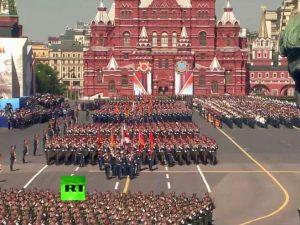 Vojna parada u Moskvi Foto: RT