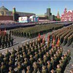 Održana vojna parada u Moskvi Foto: screenshot