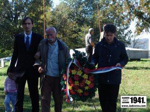 Palančište, parastos i komemoracija 20. oktobar 2012. godine