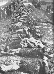 Žrtve Jasenovca snimljene duž Save