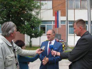 Ratni komandant  Osmog odreda specijalne policije Branislav Okuka