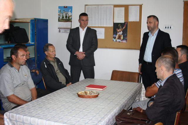 Slivovo je danas obišao Dalibor Jevtić, ministar za zajednice i povratak u privremenoj Vladi Kosova
