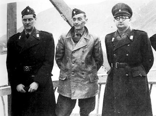 eugen kvaternik, jure Francetić i Mladen lorković