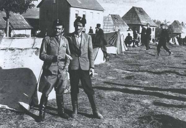 Franjo Sudar na Kupresu, muslimani su ga od milja zvali Osman beg