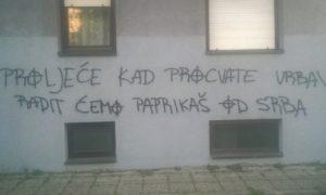 Sraman grafit u Zagrebu  Twitter