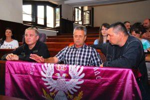 Heroji s Košara na Pravnom fakultetu Foto: Predrag Dedijer / RAS Srbija