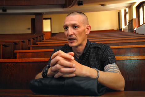 "Ivan Spasić, pripadnik 125. motorizovane brigade ""Džoker"" Foto: P. Dedijer / RAS Srbija"