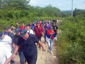 """Vozuća: Marš """"Stazama egzodusa"""" (arhiv) Foto: SRNA"""
