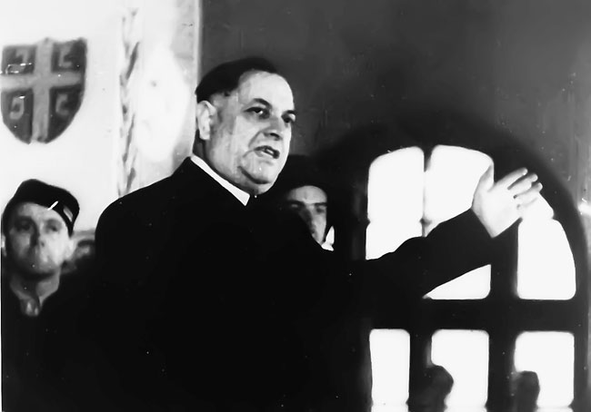 Председник Владе народног спаса Милан Недић (Фотодокументација Политике)