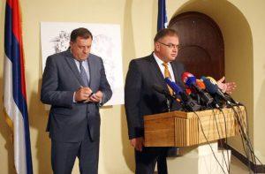Milorad Dodik i Mladen Ivanjić