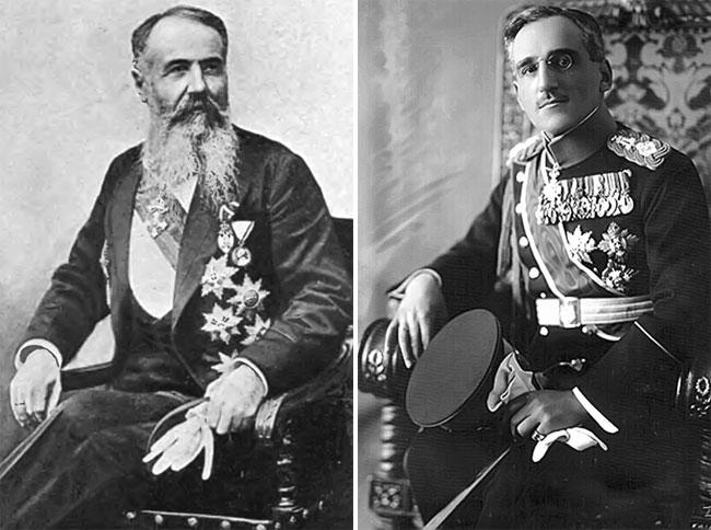 Nikola Pašić i Aleksandar prvi Karađorđević (Fotodokumentacija Politike)