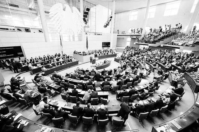 Njemački Bundestag Foto: Rojters
