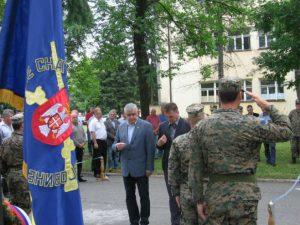 Obilježavanje Dana 1. i 2. Krajiškog korpusa Foto: RTRS
