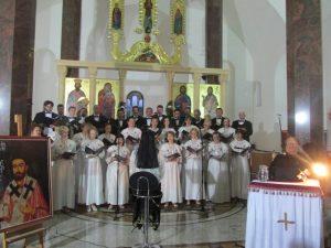 Hram Svetog kneza Lazara i svih srpskih mučenika u Andrićgradu obilježio je krsnu slavu Vidovdan i tim povodom upriličio prigodan program