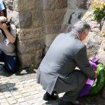 Princ Aleksandar Karađorđević položio vijenac na spomenik Kosovskim junacima .