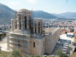 Saborna crkva u Mostaru Foto: SRNA