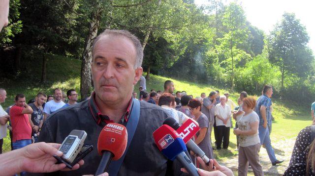 Predsjednik Mjesne boračke organizacije Kasindo Slobodan Maunaga