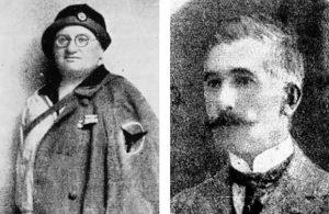 """Sofija i Milan Janković Foto Iz knjige """"Stradanja nacionalnih boraca 1914–1918."""""""