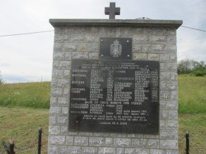 Spomen obilježje ubijenim Srbima u Brežanima