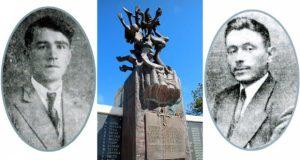 Spomenik žrtvama iz Korićke jame kod Gacka,Boljanović i Mandić