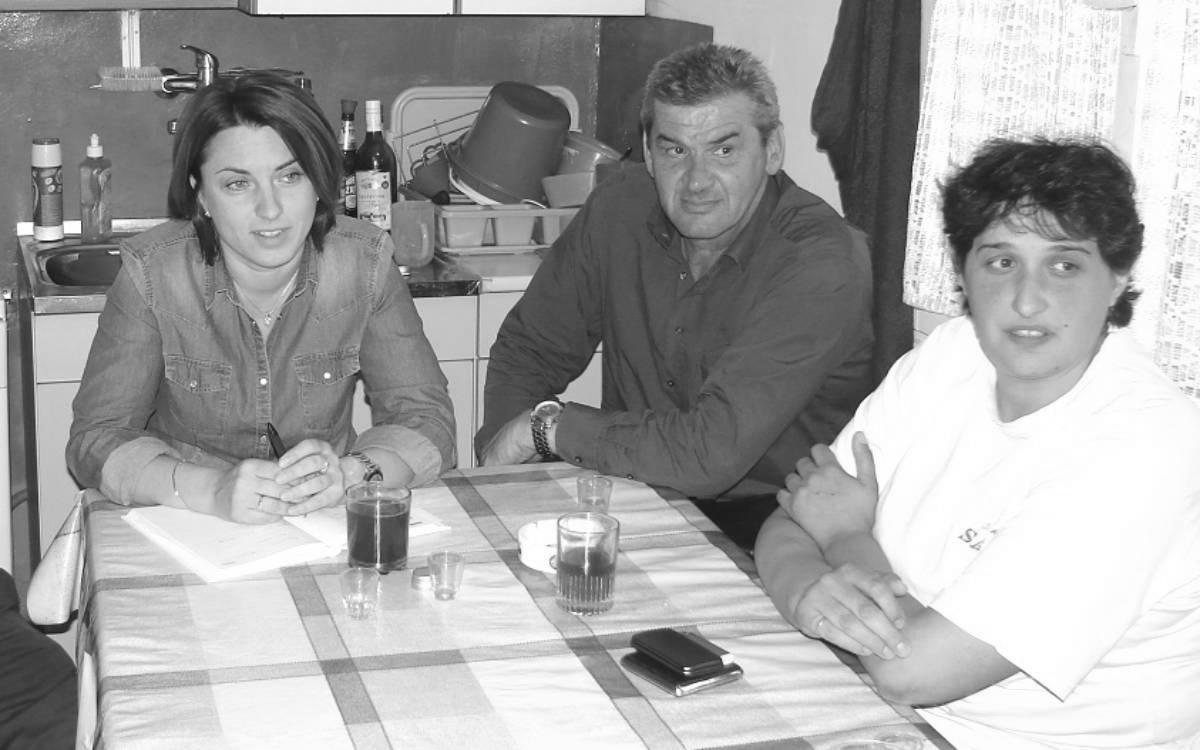 Tatjana Vukobratović iz SNV-a, Petar Novaković i Slađana Sučević