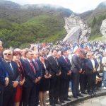 U Dolini heroja na Tjentištu danas su obilježeno 73 godine od Bitke na Sutjesci u kojoj je za tridesetak dana borbe 1943. godine poginulo 7.500 boraca