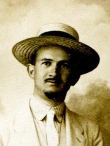 Fotografija Svetozara trlajića iz indeksa 1919.