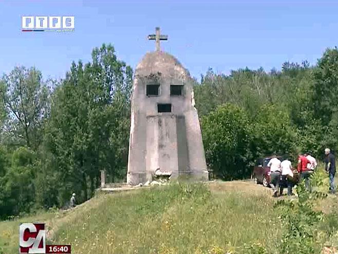 U Vardištu kod Višegrada počinje obnova spomen-kosturnice Foto: RTRS