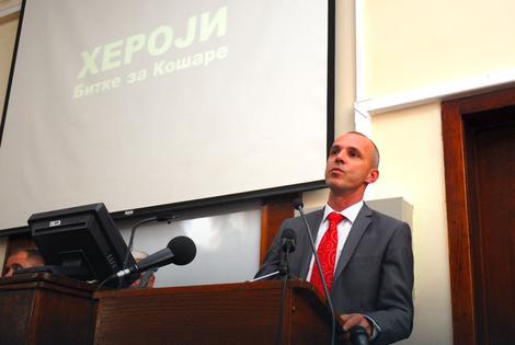 Vojislav Vukašinović Foto: Predrag Dedijer / RAS Srbija