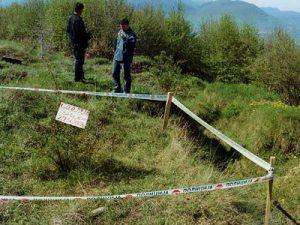 Ekshumacija na brdu Žuč  Foto: arhiva