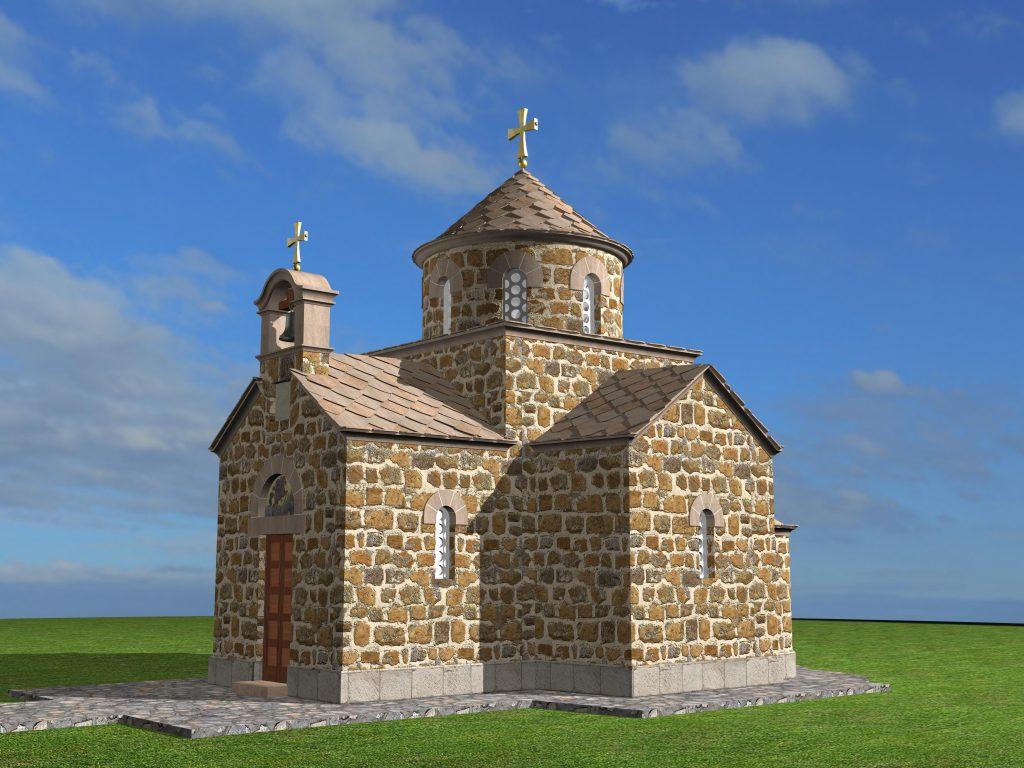 Iz projekta kapele kod Šaranove jame