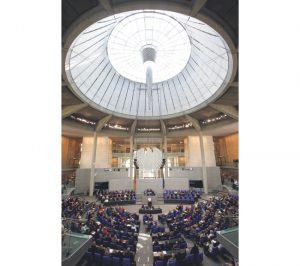 Nemački Bundestag (Foto Rojters)